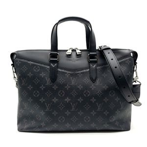 Louis Vuitton Briefcase Explorer Monogram Eclipse